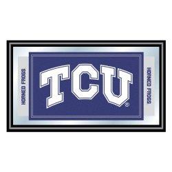 Texas Christian University Logo And Mascot Framed Mirror Texas Christian University Logo And Mascot