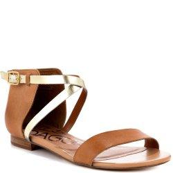 Kelsi Dagger Women'S Kacie Sandal,Luggage,9 M Us