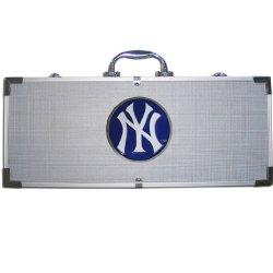 Mlb New York Yankees 8 Piece Bbq Set