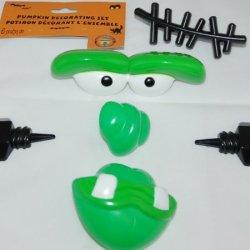 Frankenstein Monster Pumpkin Decorating Set