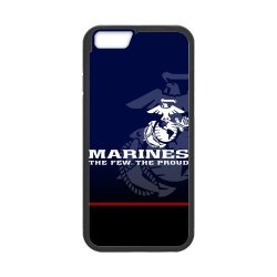 """Us Marine Corps Iphone 6 4.7"""" Case Customize Usmc Deep Blue Cases Cover (Laser Technology)"""