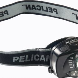 Pelican 2720 Led Headlamp With Gesture Activation Control 027200-0100-110, 1 Each