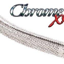 Techflex Chrome Xc 0.5 Inch Sleeving 25Ft