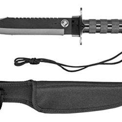 """16"""" Survival Knife - Black"""