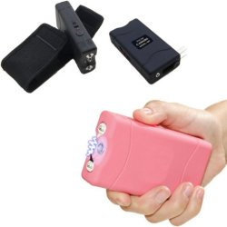 His & Her Electric Shock Tactical Security Self Defense Stun Guns W/Led Light