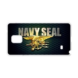 Jdsitem Unique U.S. Navy Seals Retiary Design Case Cover Sleeve Protector For Phone Samsung Galaxy Note 4 (Laser Technology)