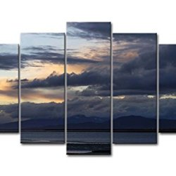 5 Panel Wall Art Painting Peace For The Cloud In The Beach Pictures Prints On Canvas Landscape The Picture Decor Oil For Home Modern Decoration Print