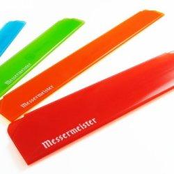 Messermeister 4-Piece Edge-Guard Set, Translucent Multi-Colored