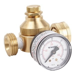 Water Pressure Regulator Water pressure is highly variable, and your RV water system can only handle so much pressure. Regulating it is important, this is the one we use.
