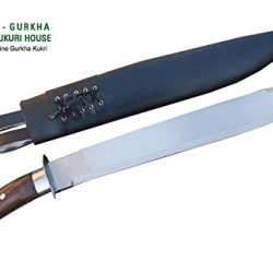 "Genuine Full Tang Hand Forged Blade Machete Kukri - 16"" Blade Nepalese Chhuri Knife By Egkh In Nepal Zombie Apocalypse Chopper"