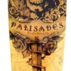 Palisades Skull Dagger Rietveld Skateboard Complete (9.37 X 44)