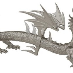 Master Cutlery Pe-606Sl Fantasy Dragon Knife Display 20-Inch Designed By Paul Ehlers