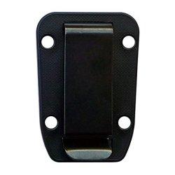Esee Knives Belt Clip Plate For Candiru Knife Molded Sheath (Black)