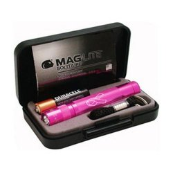 Maglite K3Amw2 Boxed National Breast Cancer Solitaire Flashlight, Pink
