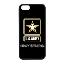 Jdsitem U.S. Army Strong Star Design Case Cover Sleeve Protector For Phone Iphone 5/5S Tpu (Laser Technology)