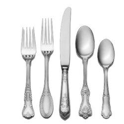 Wallace Hotel 77-Piece Flatware Set, Service For 12