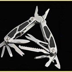 Stainless Steel Keychain Multi Function Vise Tool