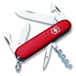 Victorinox Swiss Army Tourist Pocket Knife (Red)