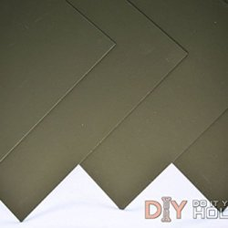 "Kydex T, P1 Haircell Finish, 8"" X 12"" X .080"", Olive Drab, 2 Sheets"
