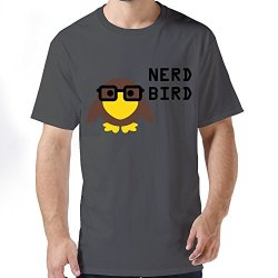 Durable Nerdbird Men T Shirts Medium Deepheather