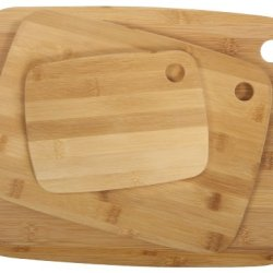 Core Bamboo Classic Cutting Board Combo Pack, Natural, Small/Medium/Large