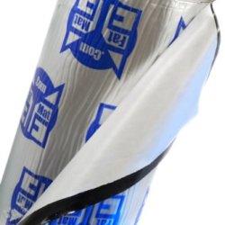 Fatmat 100 Sq Ft X 50 Mil Thick Self-Adhesive Fatmat Sound Deadener Bulk Pack W/Install Kit