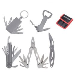 Sheffield 5-Piece Multi-Tool With Sheath