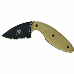 Ka-Bar Tdi Law Enforcement Knife, Coyote Brown