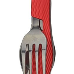 Folding Tableware Set Combination Of Knife Fork Spoon And Bottle Opener (1)