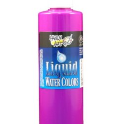 Handy Art By Rock Paint, 276-159, Washable Liquid Watercolor 1, Fluorescent Violet, 8-Ounce