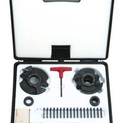 Freud Rs2000 Insert Knife Rail And Stile Shaper Cutter Set, 1-1/4 Bore