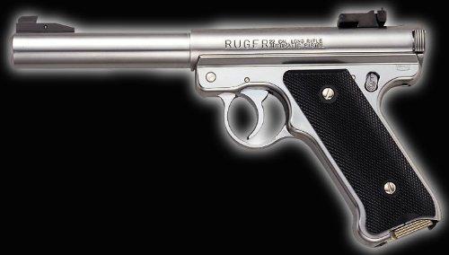 マルシン・スタームルガーMk1ブルバレル 6mmBBシルバーABS