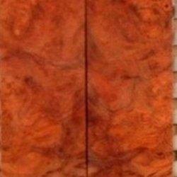 """Amboyna Burl Eye (2 Pc) Mini Knife Scales 3/16""""X1""""X4"""" 801"""