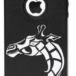 Iphone5C Giraffe Design Aluminum Silicone Protective Case (Multiple Colors) (Pink)