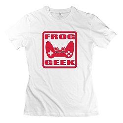 Geek Game Popular Women T-Shirt X-Small White