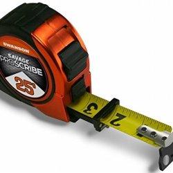 Swanson Tool Svps25M1 Swanson 25' Magnetic Savage Proscribe Tape Measure, ,