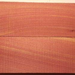 "Eastern Red Cedar 2 Pc Knife Scales 3/8"" X 1 1/2"" X 5"""