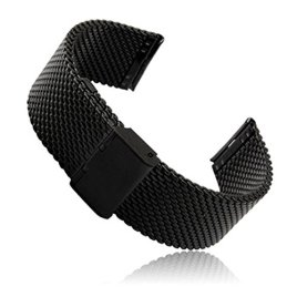 Gear-S2-Classic-SM-R732-Watch-Band-Threeeggs-Stainless-Steel-Watch-Strap-Bracelet-for-Samsung-Galaxy-Gear-S2-Classic-SM-R732-Smart-Watch-A-Milanese-Black