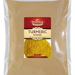 Turmeric Haldi Root Powder 14 Ounce ~ Khanapakana Brand ~ Best Deal On Amazon For Freshly Packed Gourmet Quality Indian Spice