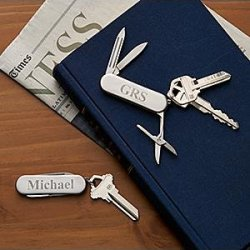 Personalized Stainless Multitool Keychain