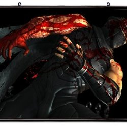 """Ninja Gaiden Videogame Fabric Wall Scroll Poster (32"""" X 23"""") Inches"""