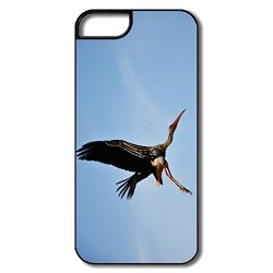 Cool Silicone Painted Stork Iphone 5S Case