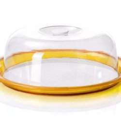 Omada M4660Gi Yellow Globo Cake Tray With Dome