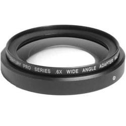 Century Optics .6X Wide Angle Adapter Lens With Bayonet Mount For The Panasonic Hvx-200 Camera