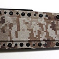"Custom Desert Digital Camo/Black .08"" Kydex Sheath For Treeman Knives 7.5"" Ultra Phalanx Tactical Combat Knife"
