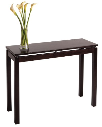 Image of Linea Console / Hall Table with Chrome Accent Linea Console / Hall Table with Chrome Accent (PRA4156678)