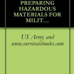 Tm 38-250, Us Army, Technical Manual, Preparing Hazardous Materials For Military Air Shipments