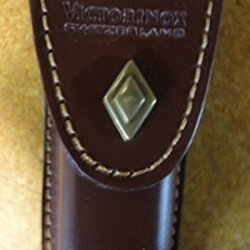 Victorinox Swiss Army Brown Leather Pouch Sheath Fits Explorer Sized 30235 Rare