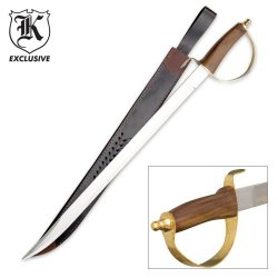 Classic Cavalry Saber Sword With Sheath