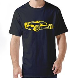 Funny Car Mens T Shirt Medium Black